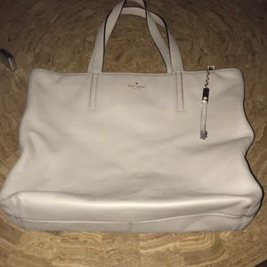 Kate spade leather tote GUC